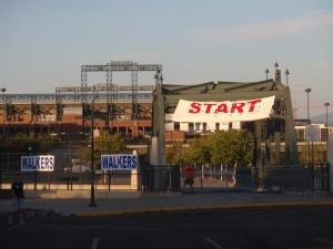 Start of the Denver JDRF walk